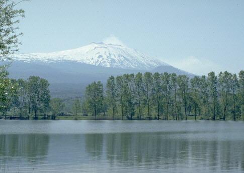 Risultato immagine per lago gurrida etna